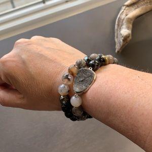 R3077 retired Silpada wrap bracelet